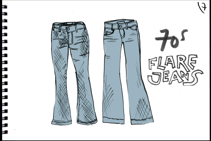 7.FLAREJEANS