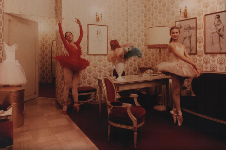 Ballerine provano con scarpe Porselli