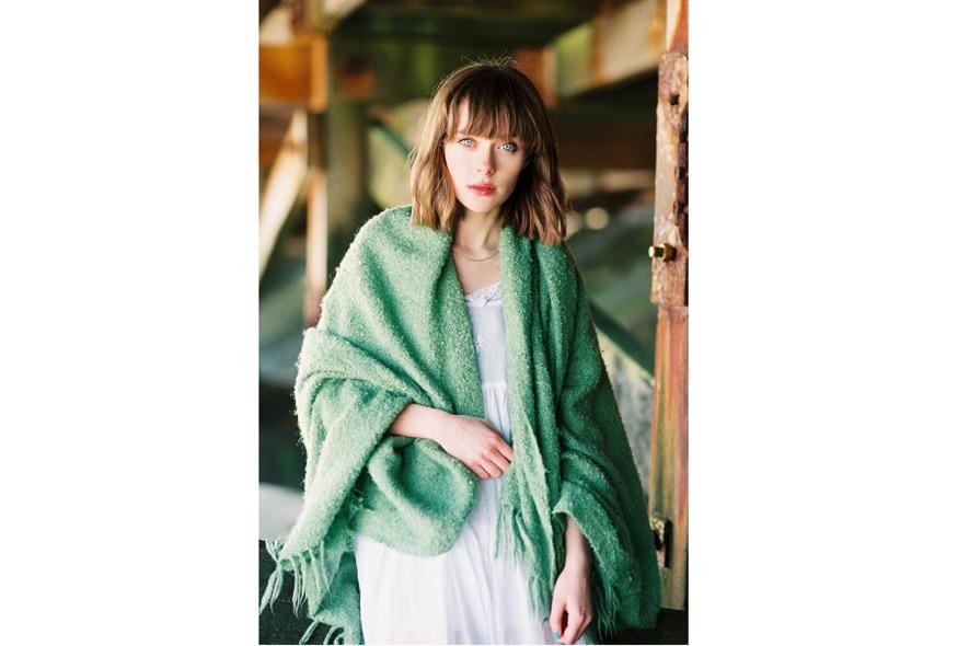 Claire Healy abito bianco 2