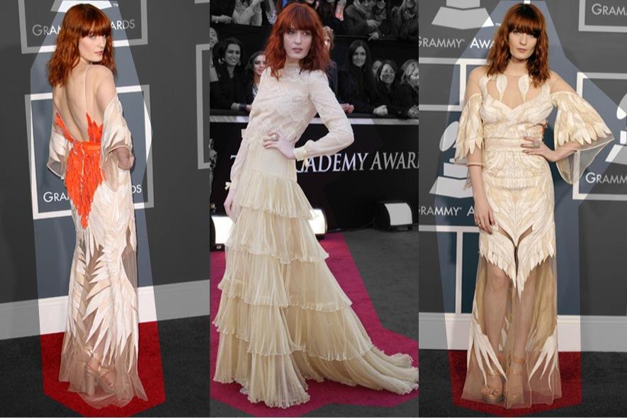 Florence Welch abiti