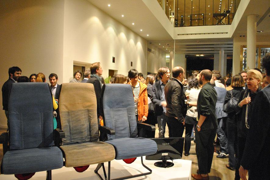 Sedie della Trussardi Design Collection