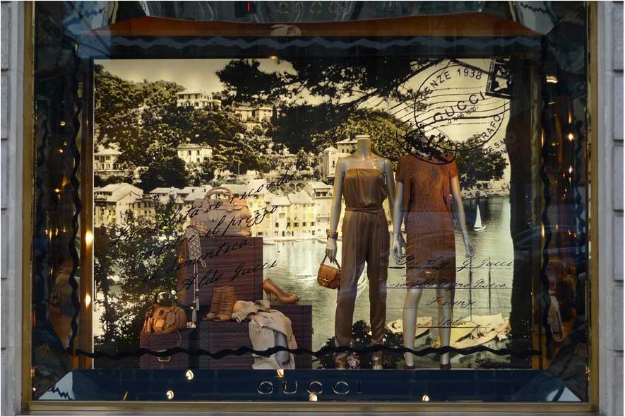 Vetrina primaverile Gucci, Parigi