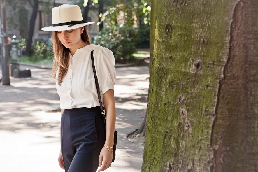 Borsalino indossato da Laura Taccari