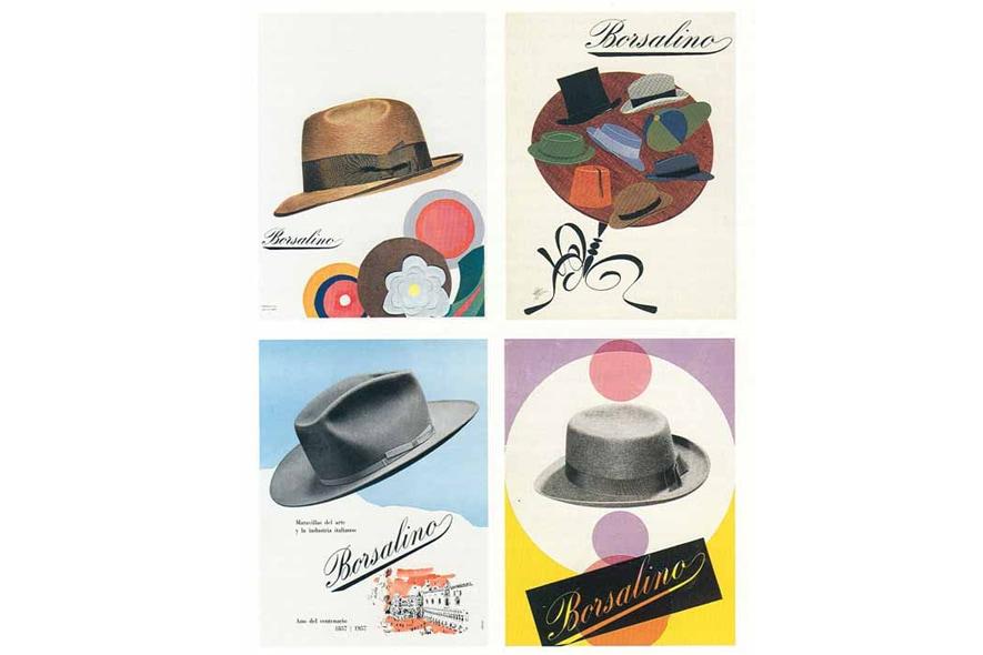 Borsalino pubblicità vintage