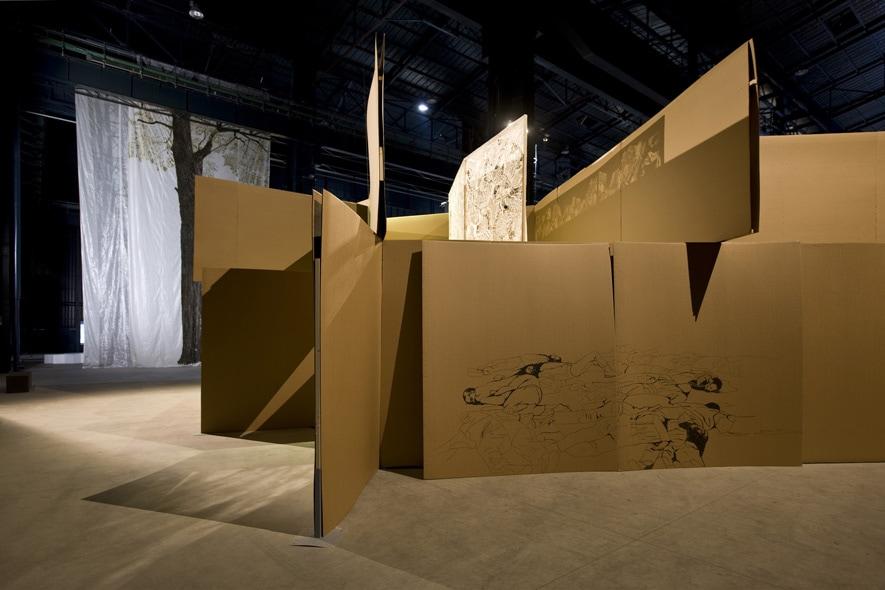 Il labirinto di Yona Friedman con i disegni di Margherita Morgantin