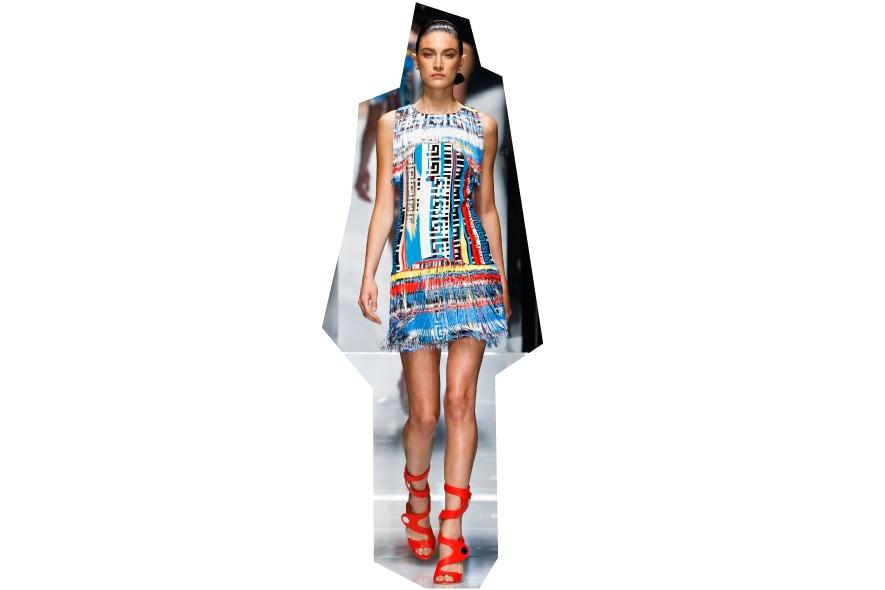 Minidress Versace stampato