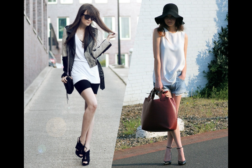 Trend minimal in bianco e nero