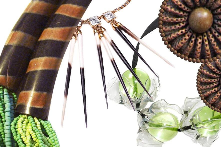 Gioielli: maxi collane per l'estate