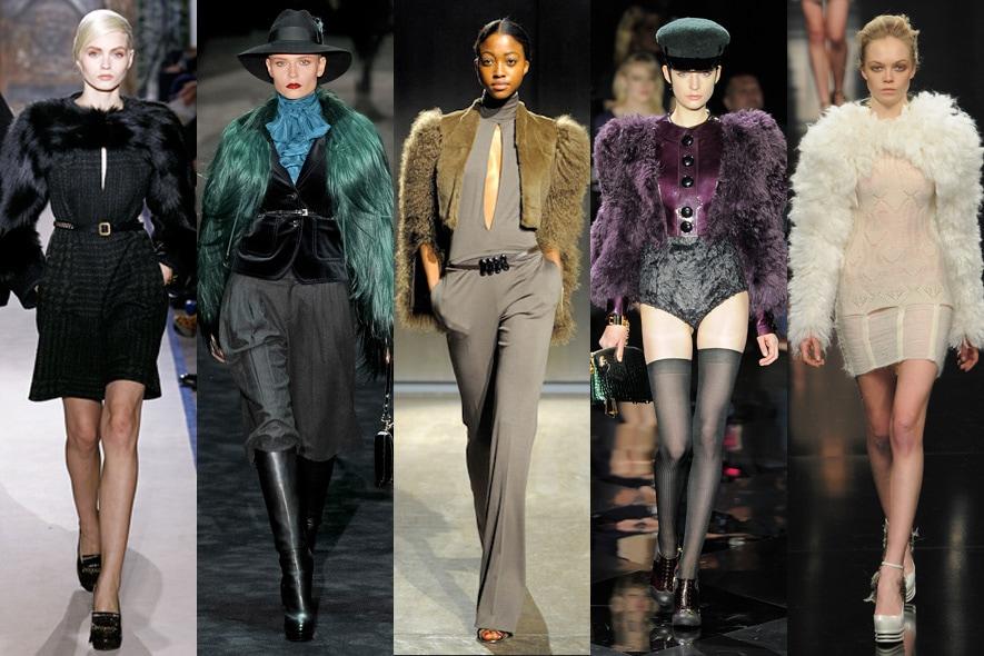 maniche di pelliccia nelle sfilate A/I 2011-12