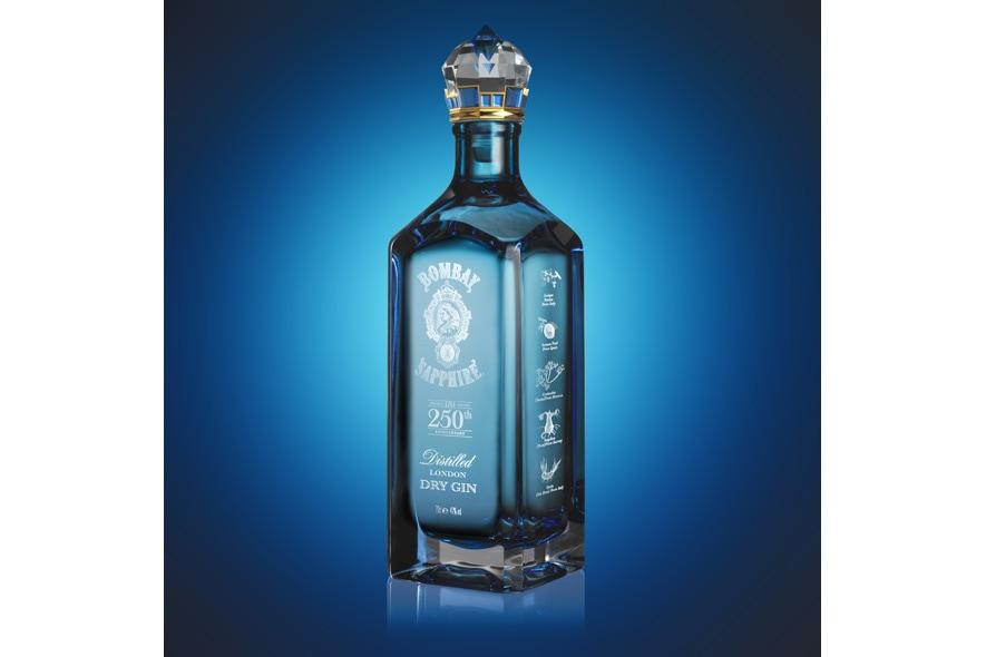 Bombay Sapphire Garrard bottle