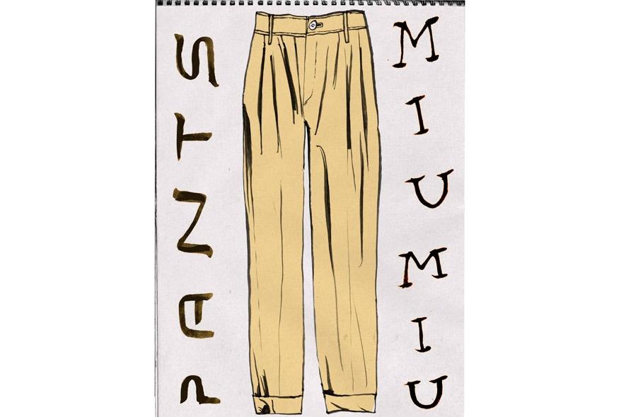 MiuMiu pantaloni