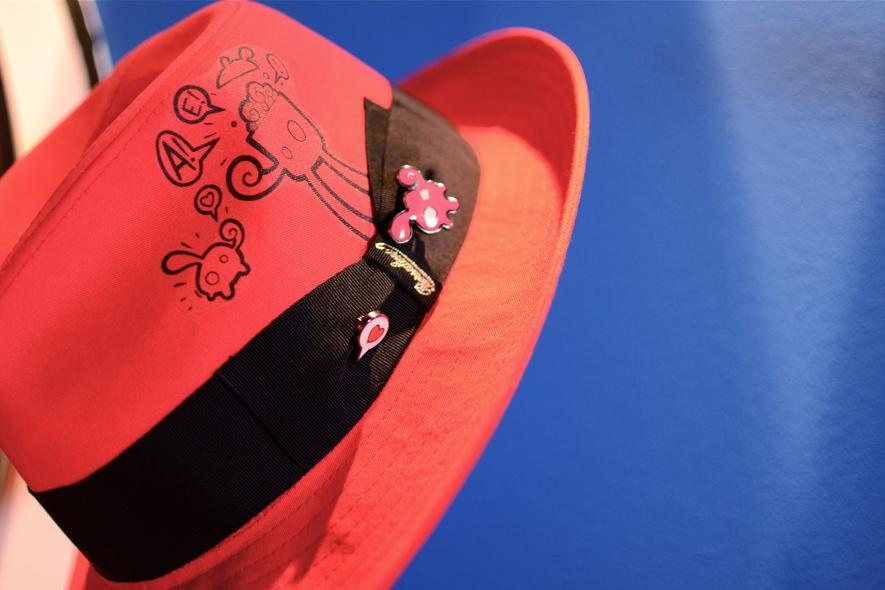 borsalino1 Uno dei cappelli della capsule collection Fashion Balloons 63639ad3566f