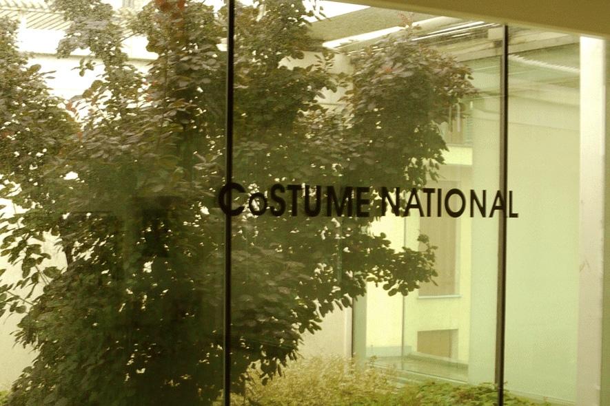 Costume National: resort 2012 rock in versione gif