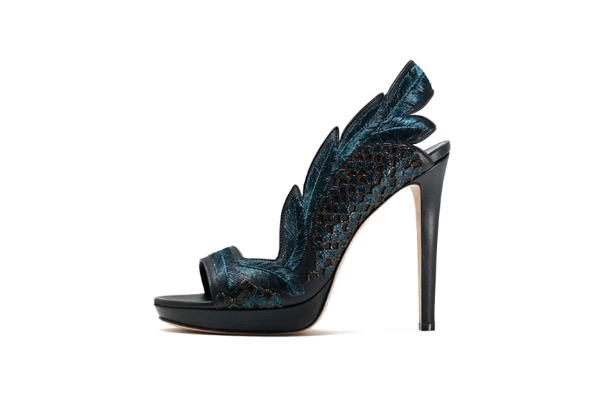 Gaetano Perrone scarpa ricamo