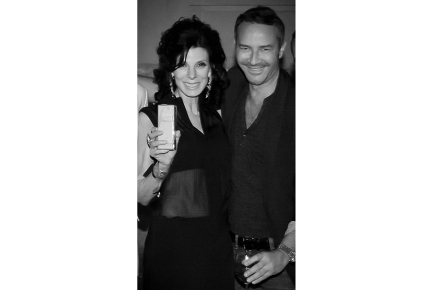 Launch party Paris Susan and Marcel Marongiu, artistic director at Guy Laroche