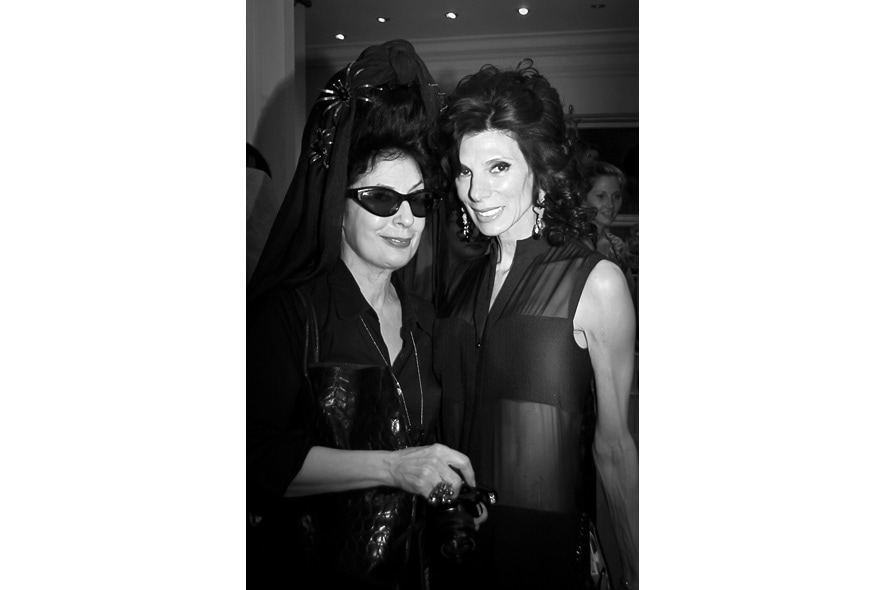 Launch party Paris Susan with Diane Pernet, of A Shaded View On Fashion