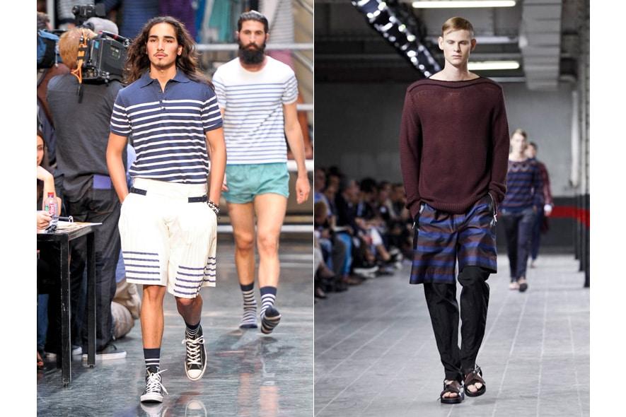Parigi moda uomo p/e 2012 bermuda