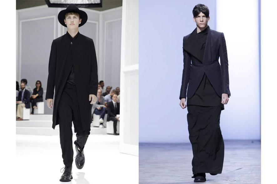 Parigi moda uomo p/e 2012 pastorale