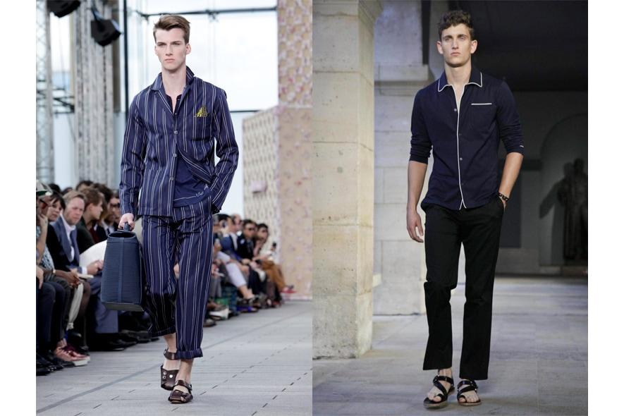 Parigi moda uomo p/e 2012 pigiama