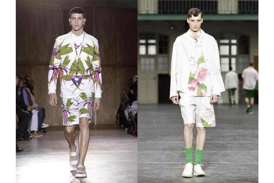 Parigi moda uomo p/e 2012 tropicale