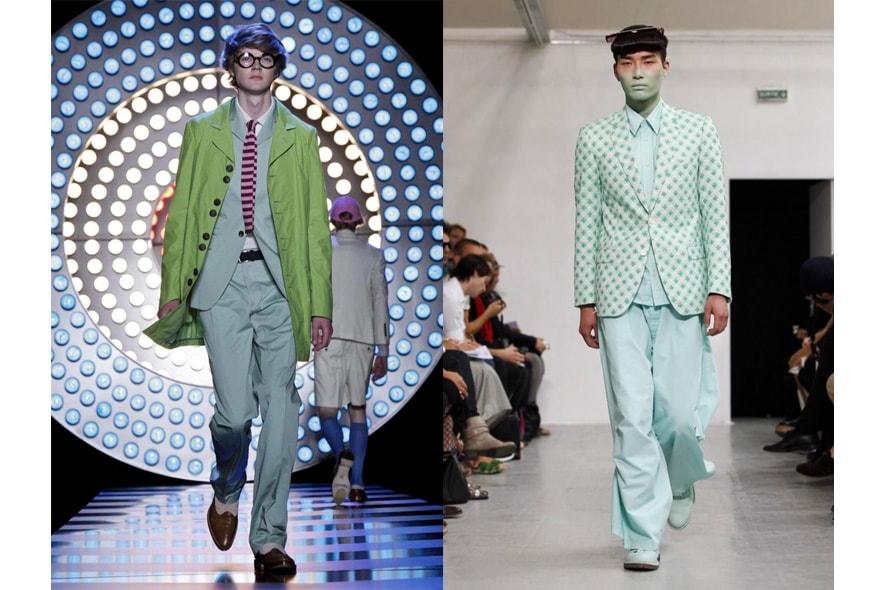 Parigi moda uomo p/e 2012 verde