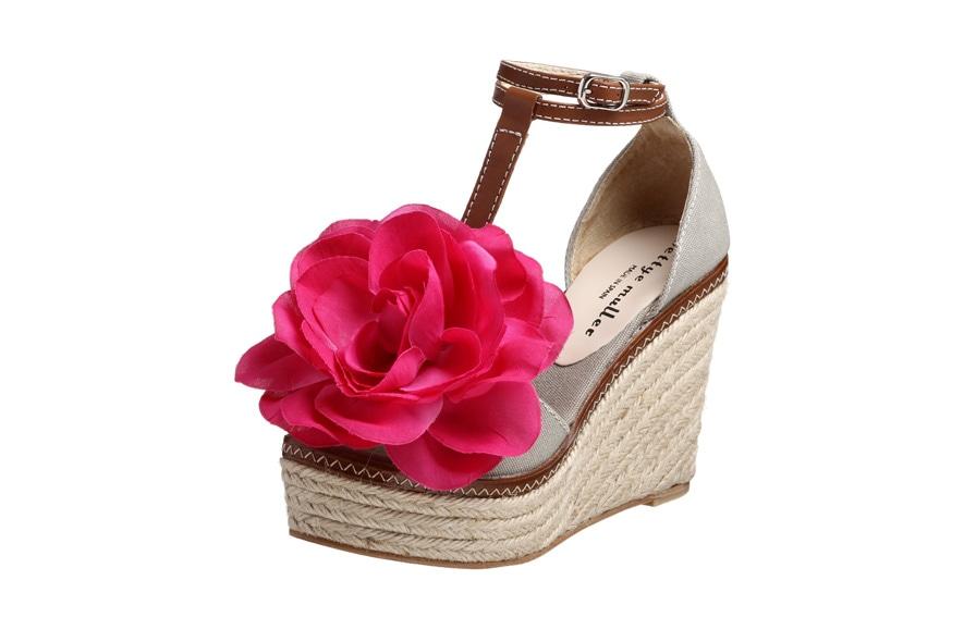 Bettye Muller zeppa con fiore