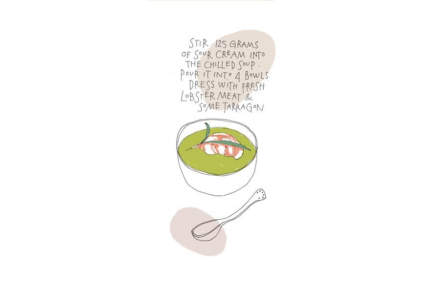 Grazia Avocado soup 3 C