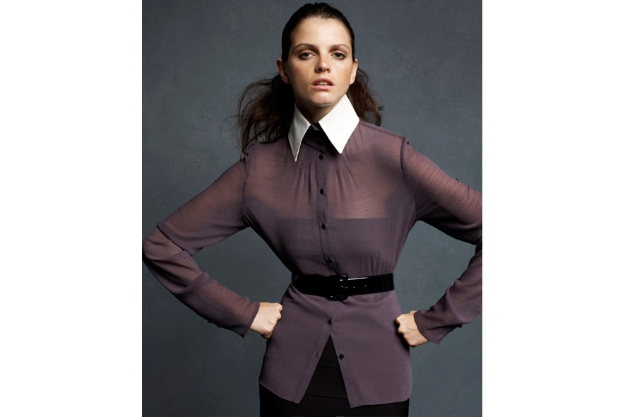 Karl Lagerfeld for Impulse only at Macys Blouse 891