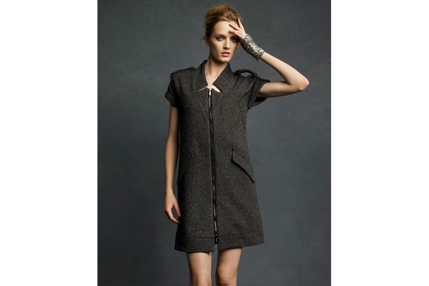 Karl Lagerfeld for Impulse only at Macys Tweed Dress 1291