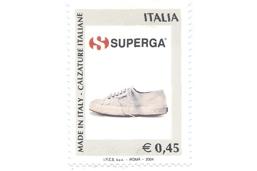 Superga francobollo