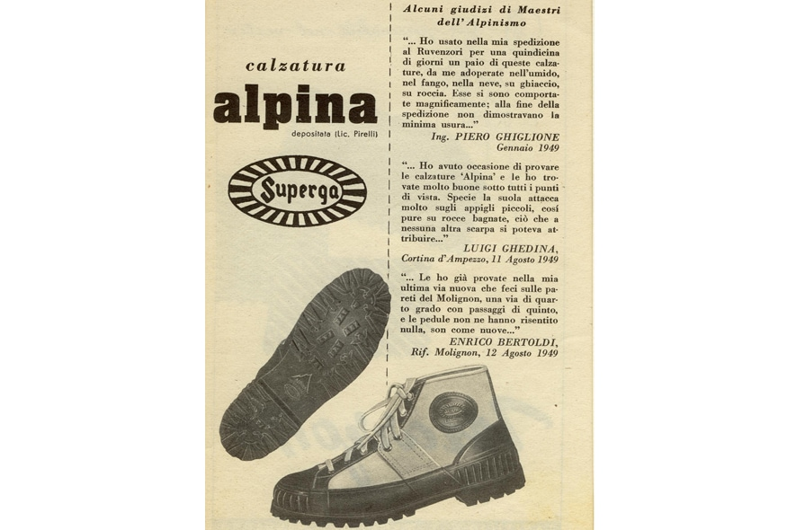 Superga scarponcini alpina