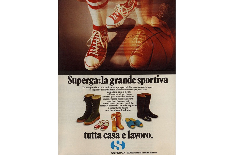 Superga stivali e basket
