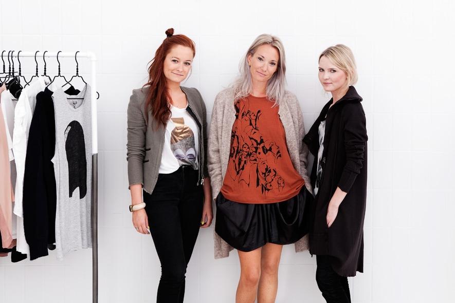 The YOUHESHE team Anne Sofie Spangsberg ,Lulu Henckel , Sidse Marie Berendtsen