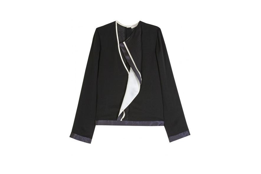 georgette silk blouse Bouchra Jarrar