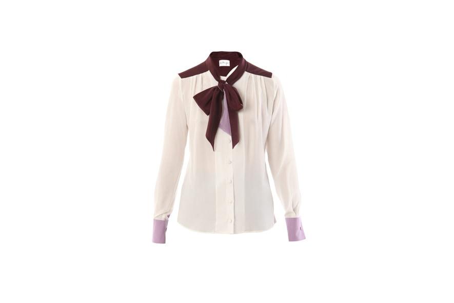 02 Chameleon silk blouse