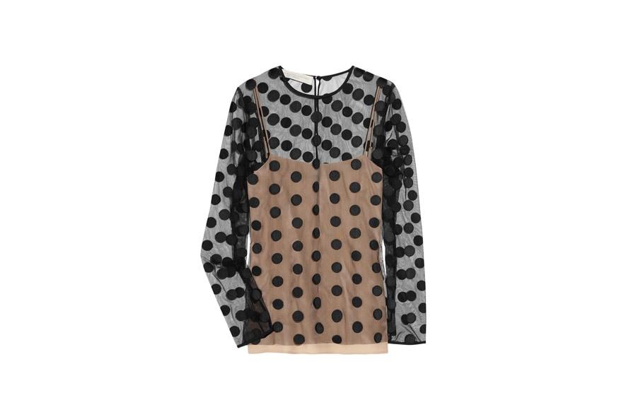 10 Vita polka dot tulle blouseStella McCartney AW11