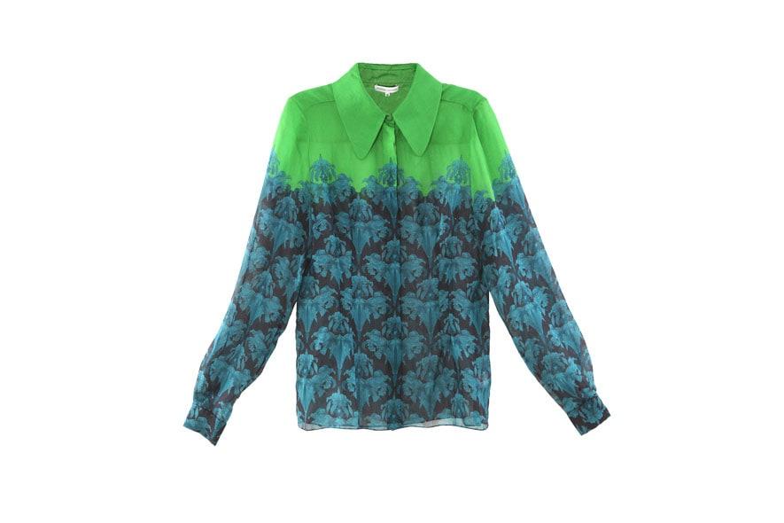 14 Hayworth printed silk chiffon blouse Jonathan Saunders AW11