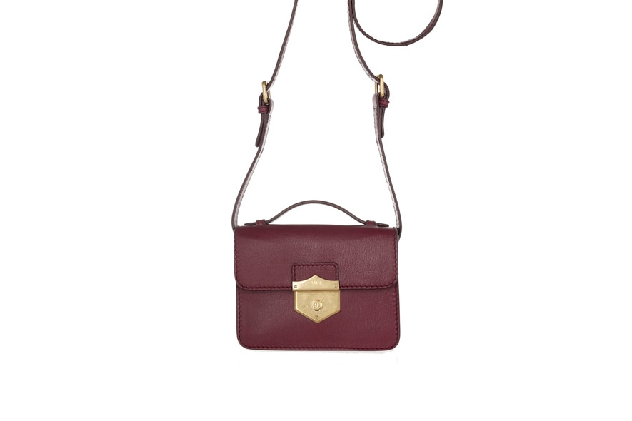 164736Alexander McQueen Wicca Mini leather satchel NET A PORTER