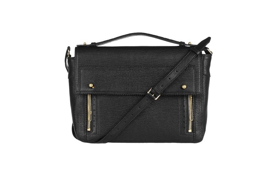 167290 3.1 Phillip Lim Pashli shark effect leather messenger bag NET A PORTER