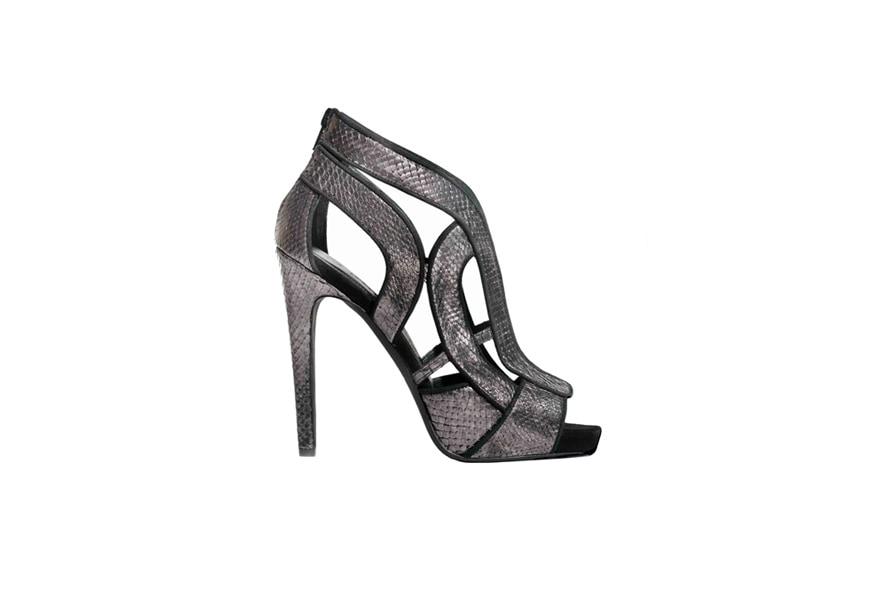 Metallizzato sandalo intaglio