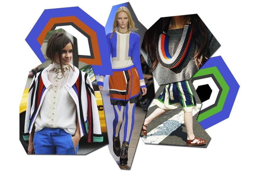 collage geometrie