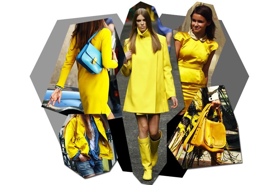 collage giallo