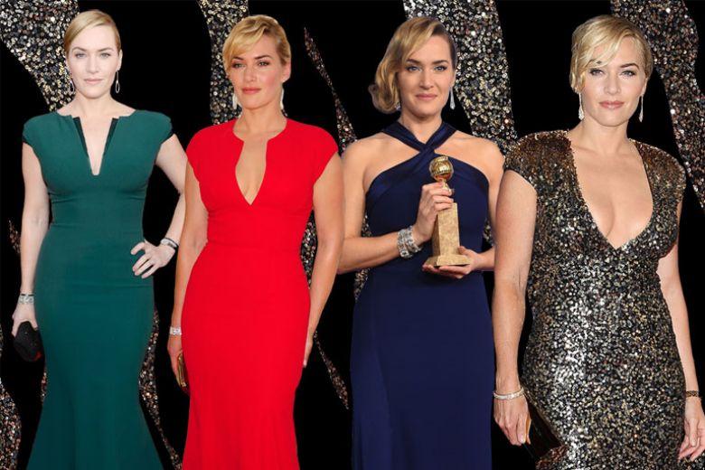 Kate Winslet, i look più belli sul red carpet