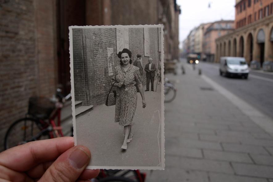 Bologna, Via Ugo Bassi, anni 50