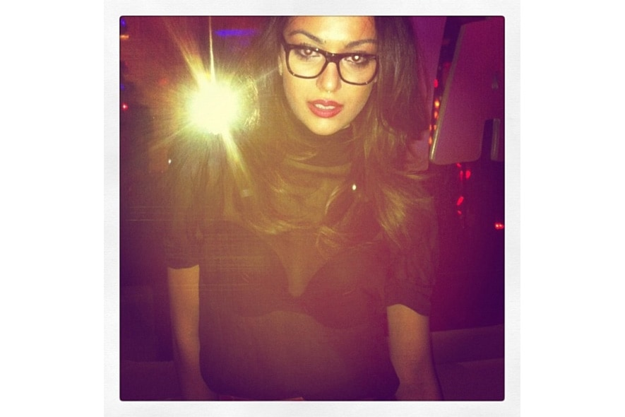 Chiara loves her dolcegabbana glasses because of their masculine line. s itgdetail1220