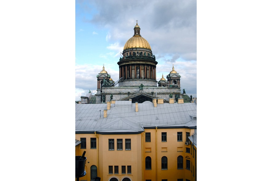 DOME OF ST ISAAC CATHEDRAL