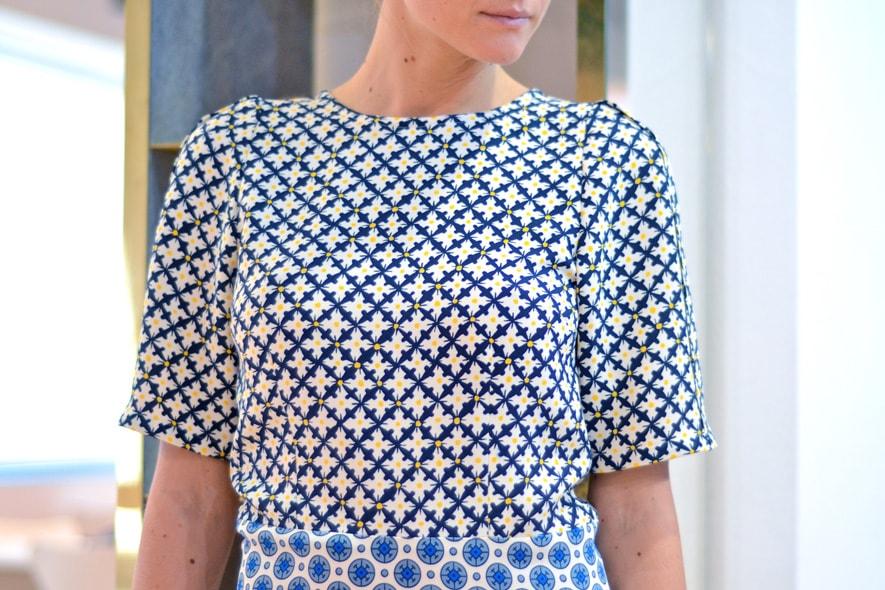 Dress stampato