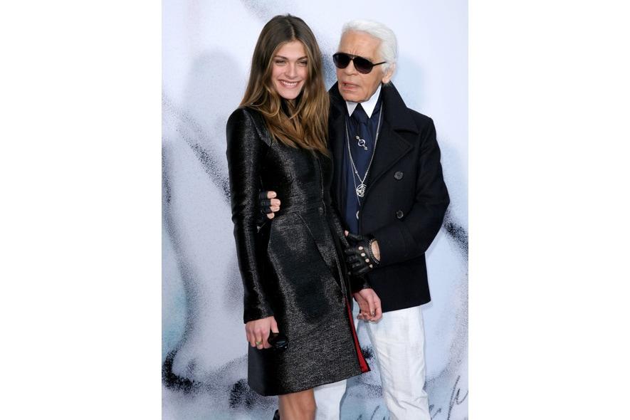 Karl Lagerfeld, Elisa Sednaoui Alta kika1640953
