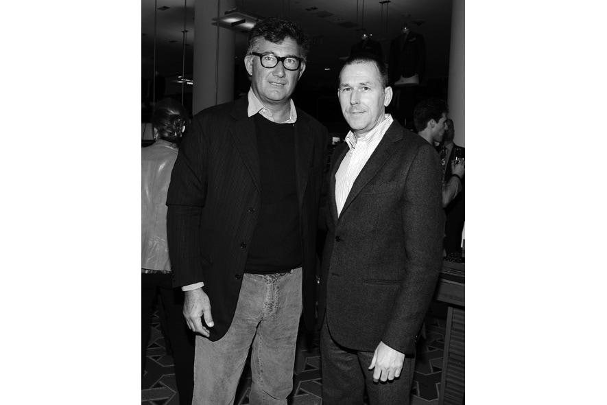 M.Piombo e Mark Lee