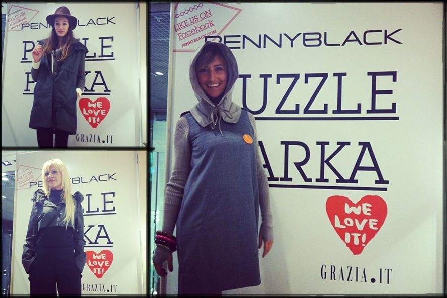 It-Girls e Puzzle Parka di Pennyblack: We love it!